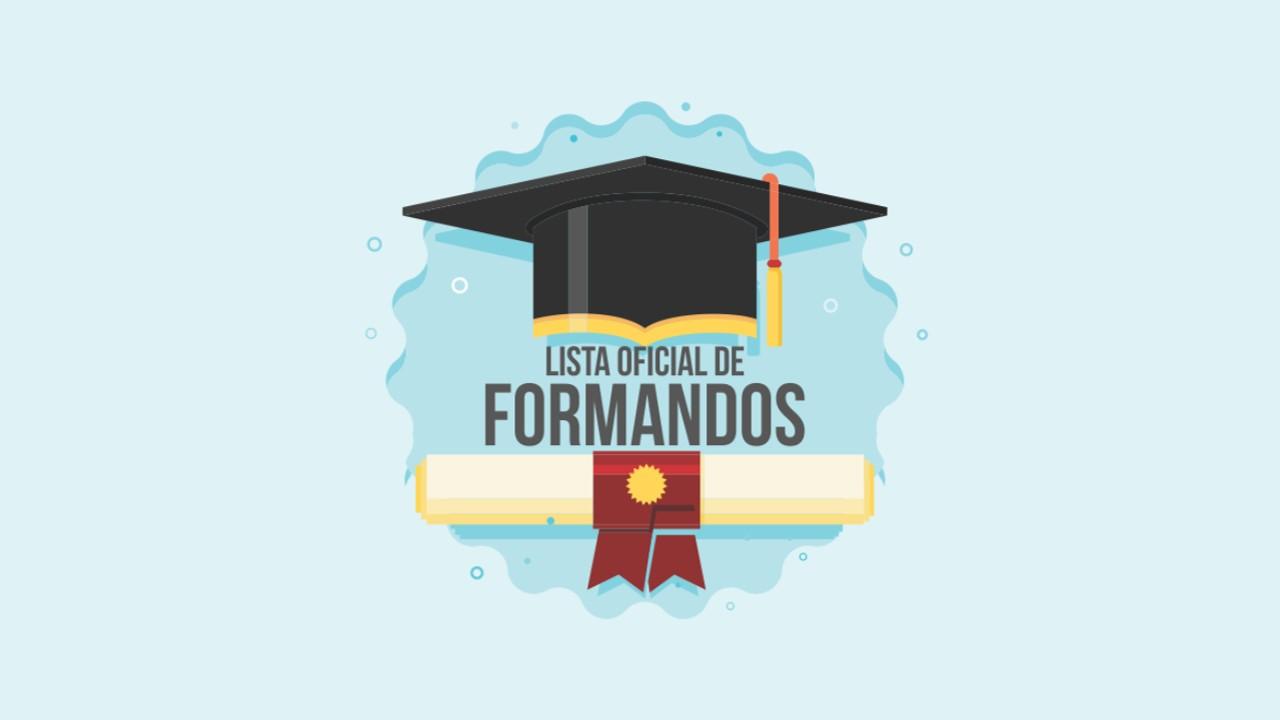 Lista de Concluintes dos Cursos de Graduação da FT para 2020